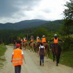 На поход с коне