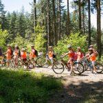 С велосипеди на зелено училище