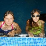 Селфи в басейна