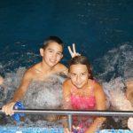 Снимка в басейна