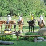 Деца на коне