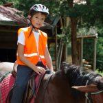 Щастливо момче с кон