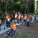 Лагер с велосипеди