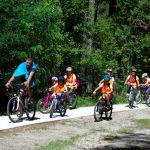 Зелено училище с велосипеди