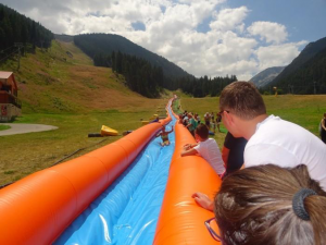 Water slide in Bansko | LuckyKids