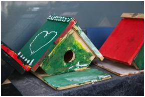 ЛъкиКидс закачиха за поредна година къщички за птици в няколко местности около гр. Банско.