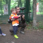 Shooting lessons in LuckyKids in the mountains | LuckyKids