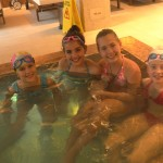 Children of Lucky Kids in Lucky Bansko bio pool | LuckyKids