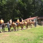 Езда на коне в езиковия лагер ЛъкиКидс 2017 | LuckyKids