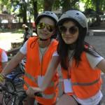 Децата от ЛъкиКидс 2017 позират с велосипеди | LuckyKids