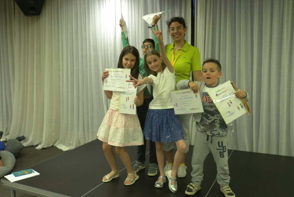 ЛъкиКидс 2017 със сертификат по английски език | LuckyKids