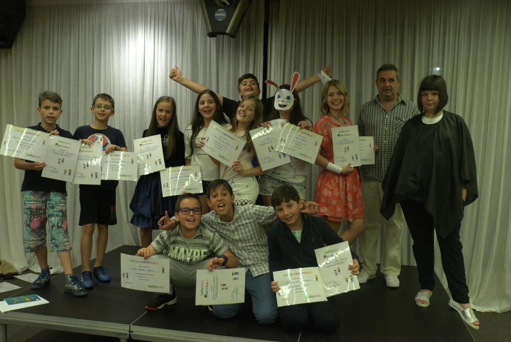 Дети от ЛакиКидс 2017 года получить сертификат