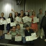 Децата от ЛъкиКидс 2017 получават сертификат