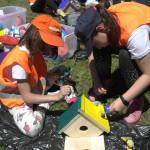 Децата изработват кутия за птици | LuckyKids