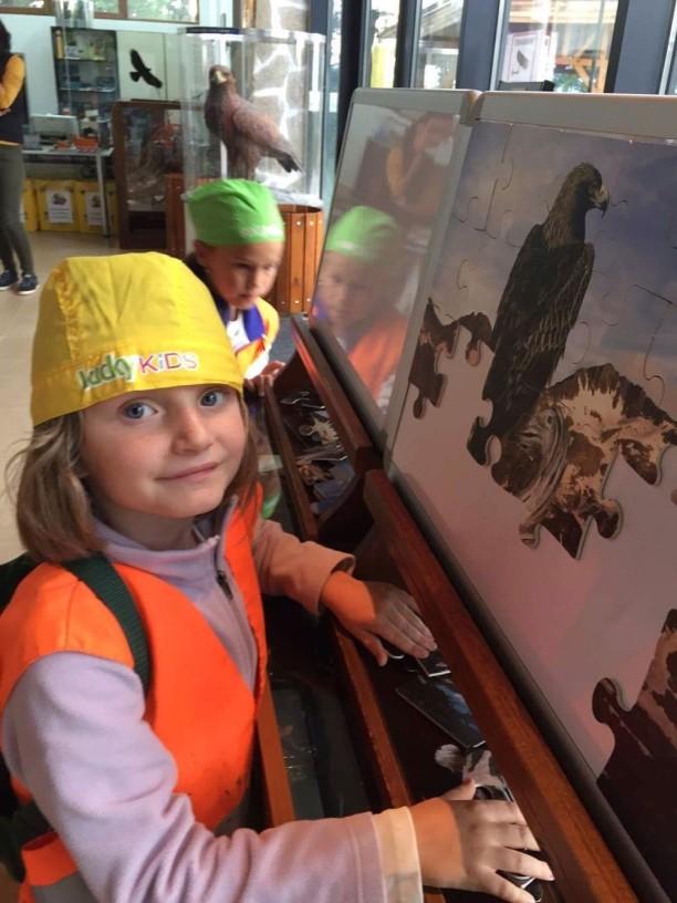 Редене на пъзел в музей | Lucky Kids