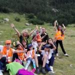 Вечерна снимка след планински преход | Lucky Kids