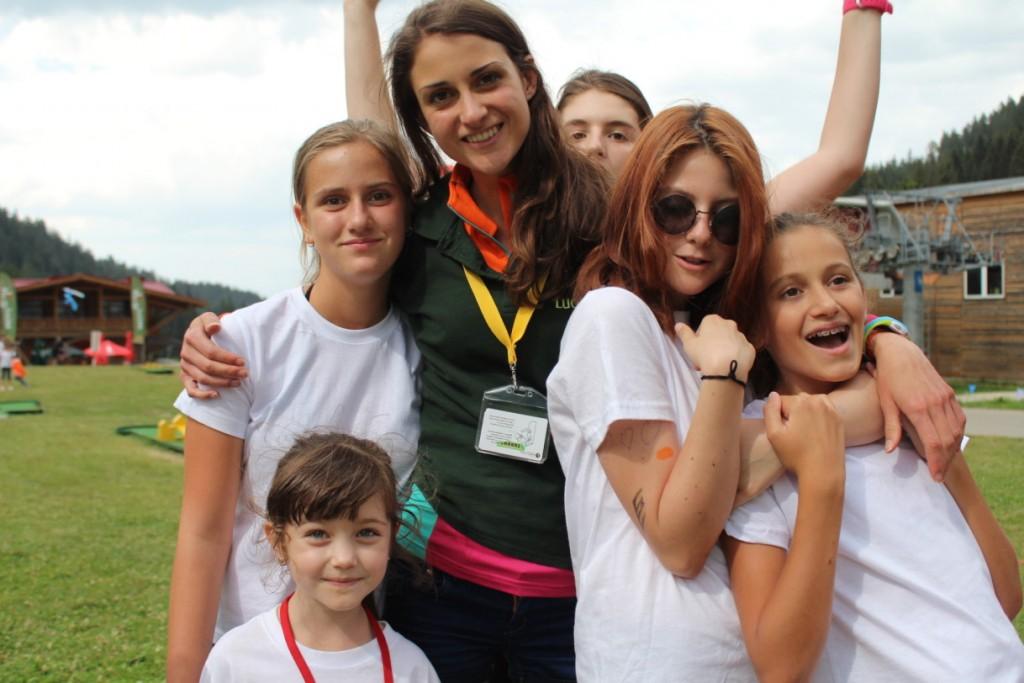 Деца от лагера на ЛъкиКидс | Lucky Kids