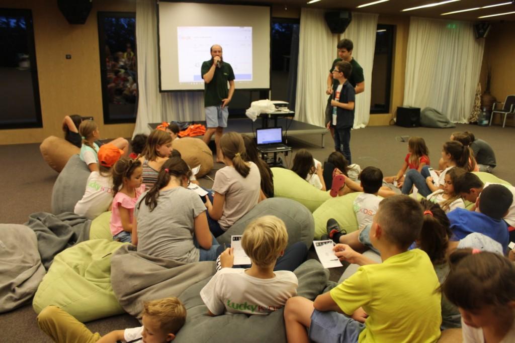 Детское развлечение в лагере ЛакиКидс | Lucky Kids