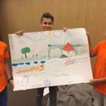 Деца обединяват рисунките си | Lucky Kids