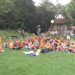 Детски лагер на тревата | Lucky Kids
