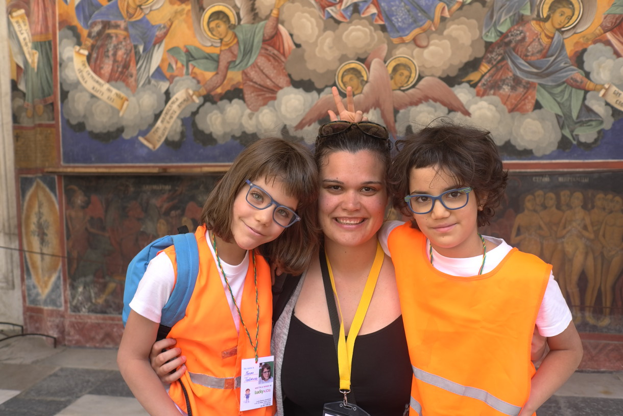 Smiles in the Rila Monastery | Lucky Kids