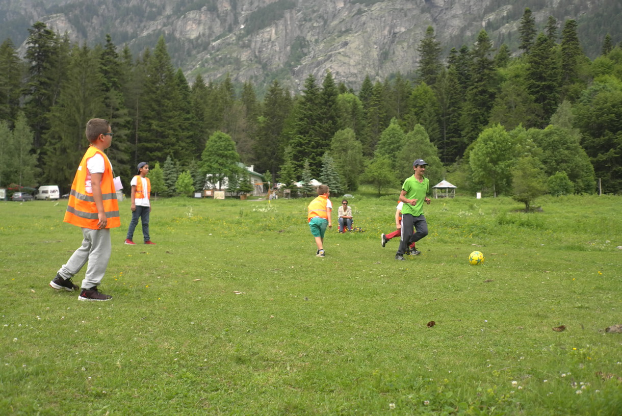 Football in the Pirin mountain | Lucky Kids