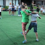 Exercises for children in the camp | Lucky Kids