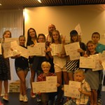 Children obtain certificates in English | Lucky Kids