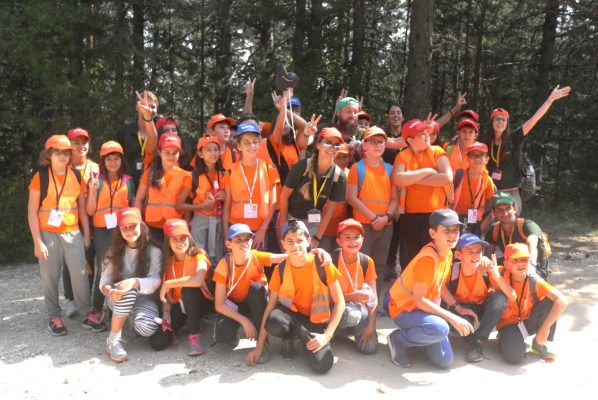 Last group photo from camp | Lucky Kids