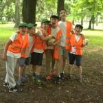 Групповое фото после футбола | Lucky Kids