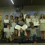Дети успешно завершили курс английского языка | Lucky Kids