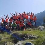 Групповое фото в горы Пирин | Lucky Kids