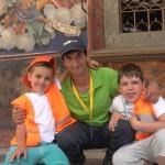 Дети и конферансье в Рильский монастырь | Lucky Kids
