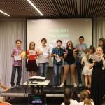 Караоке для детей в английском лагере | Lucky Kids