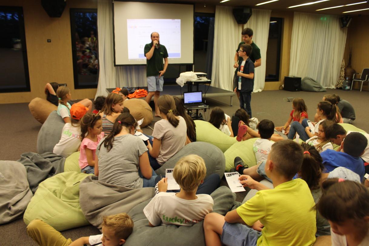 Детские развлечения в лагере ЛакиКидс | Lucky Kids