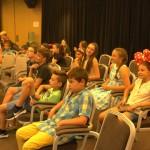 Дети слушают презентации на английском языке | Lucky Kids