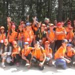Последняя группа фото лагеря 2017 | Lucky Kids