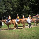 Horse riding at the LuckyKids camp | LuckyKids