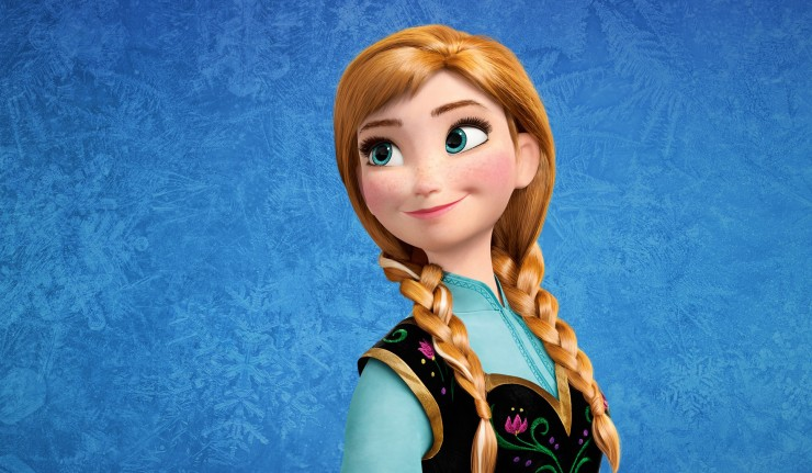 Anna from Frozen | Lucky Kids