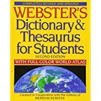 Словарь и тезаурус Вебстера