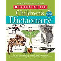 Scholastic Children's Dictionary, 2019