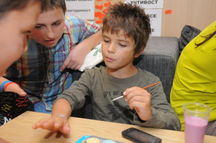 What are the educational blocks in the summer camp