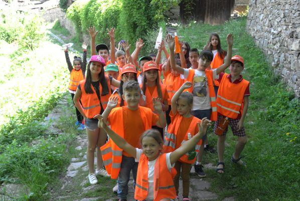 Children's summer camp or summer camp